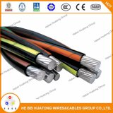 UL44 Copper Conductorxlpe Aislamiento Xhhw-2 600V 12AWG-2000kcmil