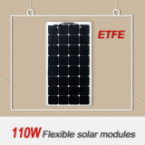 El panel solar Semi Flexible 100W ETFE material