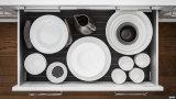 China personalizou os gabinetes de cozinha estratificados brancos da porta do PVC