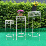 Stand grand de planteur du rond Set/3 de Decroation de jardin