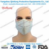 Non-Woven remplaçable respirateur de 2 plis et masque protecteur de marche à suivre pour l'hôpital Qk-FM014