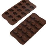 La FDA de nouveau produit délivrent un certificat le moulage matériel de silicones de catégorie comestible, moulage de /Chocolate de moulage de pudding de silicones de forme de billes de coeur