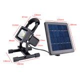 indicatore luminoso di inondazione solare esterno ricaricabile Emergency multifunzionale portatile di 3W LED