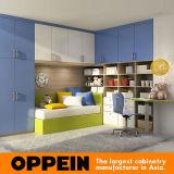 Los muebles del dormitorio de los niños coloridos de Oppein embroman los muebles de madera (OP16-KID03)