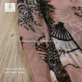 2017 neueste Dame Fashion Viscose Scarf mit Ventilator gedrucktem Schal