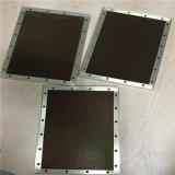 Вентиляция двери гаража обшивает панелями алюминий (HR521)