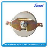 La pressione di olio Misurare-Idraulica riempita liquido di pressione Misura-Indietro il manometro