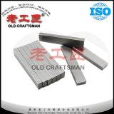 Tiras Non-Magnetic do carboneto para o molde