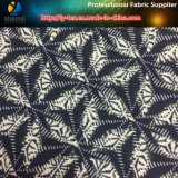 Tessuto molle della neve del diamante del pelo del poliestere con stampa per la camicia (YH2138)