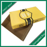 Cadre de empaquetage de dessus et de cadeau de papier ondulé de base