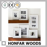 Decoración de madera del marco de la foto de la pared de la impresión multi del arte