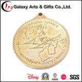 Métal personnalisé et type pièces de monnaie rares d'or de médaille de souvenir comme promotion Gfits