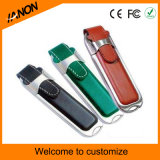 Clássico Mold USB Flash Drive Leather USB Stick