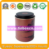 Metalltee-Blechdose-Nahrungsmittelgrad für Tee kann verpackend