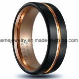 Boucle noire populaire de bijou de placage de modèle neuf de boucle de tungstène