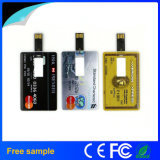 Azionamento dell'istantaneo del USB della carta di credito di stampa di marchio di Colorfull dei campioni liberi