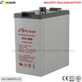 Comitato solare/batteria libera 2V600ah di manutenzione VRLA /AGM