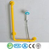 90 Grad L Form-Badezimmer-Zupacken-Stab-Dusche-Halter