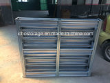 Paleta de acero resistente galvanizada modificada para requisitos particulares del metal para el almacenaje del almacén