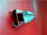 Aangepaste 6063t5 anodiseerde de Zilveren Pijpen van het Aluminium/Buis voor de Pomp van de Olie