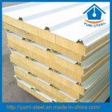 Feuerfestigkeit-Felsen-Wolle-Isoliersandwichwand-/Dach-Panels