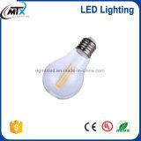Ampoule chaude du blanc E27 220V d'ampoule de DEL rétro pour l'éclairage à la maison dimmable de décoration