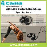L'oreille sans fil de sport d'écouteurs de Hv806 Bluetooth bourgeonne le vert bleu noir