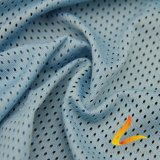 Tela elástico hecha punto de Lycra del Spandex del poliester para la aptitud de la ropa de deportes (LTT-3001#)