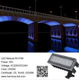 Muti-Color LED Waterproof IP65 LED City Light LED Luminária de parede