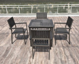 [ألومينوم&160]; بلاستيك [ووود&160]; كرسي تثبيت طاولة خارجيّة فناء أثاث لازم ([ج803])