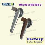 Fechamento de alumínio do competidor do punho de porta da placa do ferro