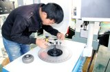 Станок для динамической балансировки вертикали частей формы диска промышленный