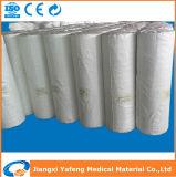 100% rullo enorme assorbente della garza candeggiato cotone