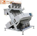 3つのシュート192チャネルの米製造所カラー選別機機械、米の処理機械