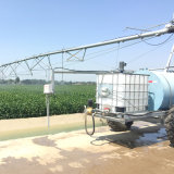 Het automatische ZijSysteem van de Irrigatie van de Spil van de Beweging met de Spuitbus van het Eind