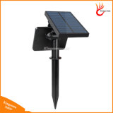 Solar Lawn Light impermeável 48 LED alimentado Outdoor Garden Wall Security Spotlight Lamp