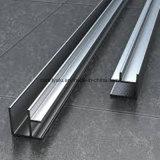 Perfil de alumínio anodizado para a porta do indicador e do alumínio