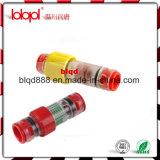 Connecteur de bloc de gaz/arrêt d'extrémité, connecteurs Lbk14/10mm de bloc de l'eau au fond