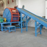 Personalizado completo de la máquina trituradora de neumáticos de doble eje con el CE