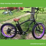 Bicicleta elétrica do cruzador gordo da potência verde com o Ce aprovado