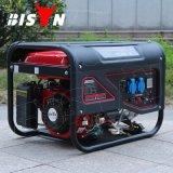 バイソン(中国)の工場価格BS2500L 2kw 2kvの銅線AC単一フェーズの世帯ガソリン電力の発電機