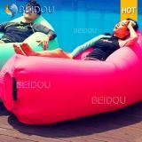 Im Freien kampierender Hängematten-Stuhlsun-Luft-Nichtstuer-aufblasbarer Schlaf-Beutel
