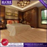 facile en bois du marché de 150X600 Alibaba Chine de nettoyer le carreau de céramique d'étage en bois résistant de souillure