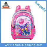 Saco de escola da trouxa do estudante das crianças da borboleta do fabricante de China