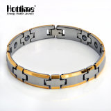 Hottime Top pulsera magnética de tungsteno con color Ipg (10002)