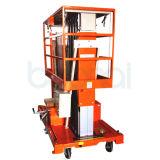 Direkte Hersteller-Doppelt-Mast-Luftarbeit-Plattform-hydraulischer Aufzug (6m)