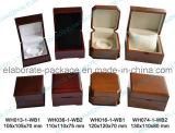 Rectángulo de reloj de madera modificado para requisitos particulares hecho a mano de la exportación de gama alta del rectángulo de joyería