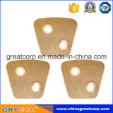 Botón de cerámica del embrague de la alta calidad