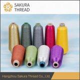 Полиэфир Sakura/пряжа нейлона/рейона металлическая для вышивки/вязать/сотка