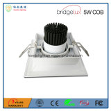 lâmpada da grade do diodo emissor de luz da Único-Cabeça 5W com ESPIGA de Bridgelux